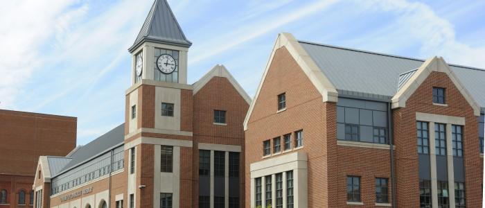 Exterior view of Waterbury Campus